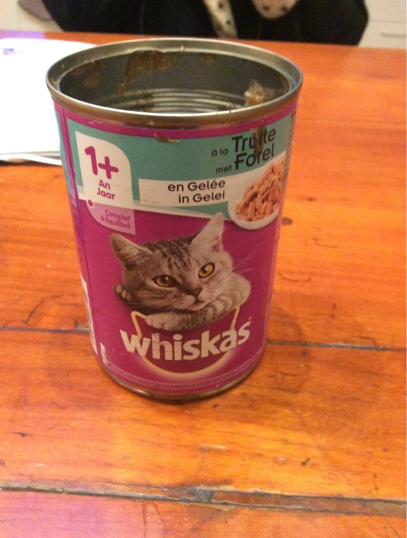 Whiskas En Gelée à La Truite 390 g - Product - fr