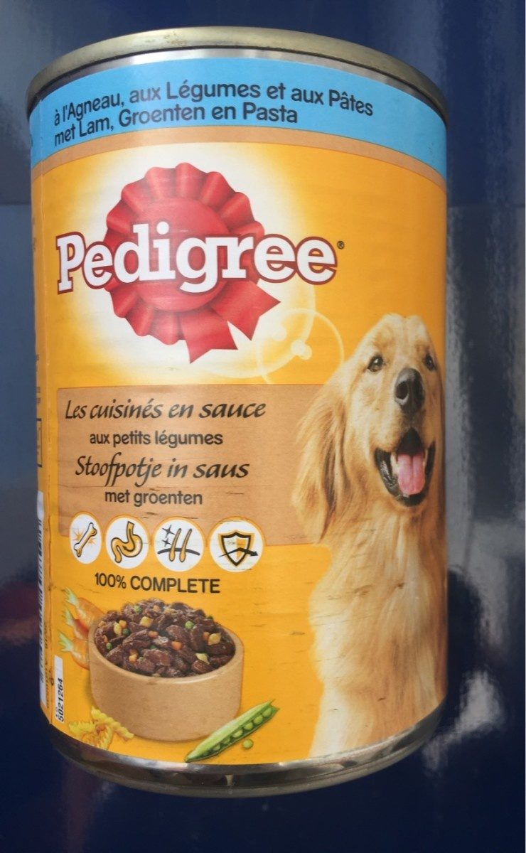 Pedigree Agneau Leg 400 G - Product - fr