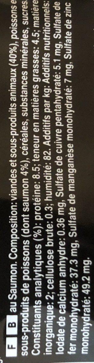 Mini Filets en Sauce / Poissions - Ingredients - fr