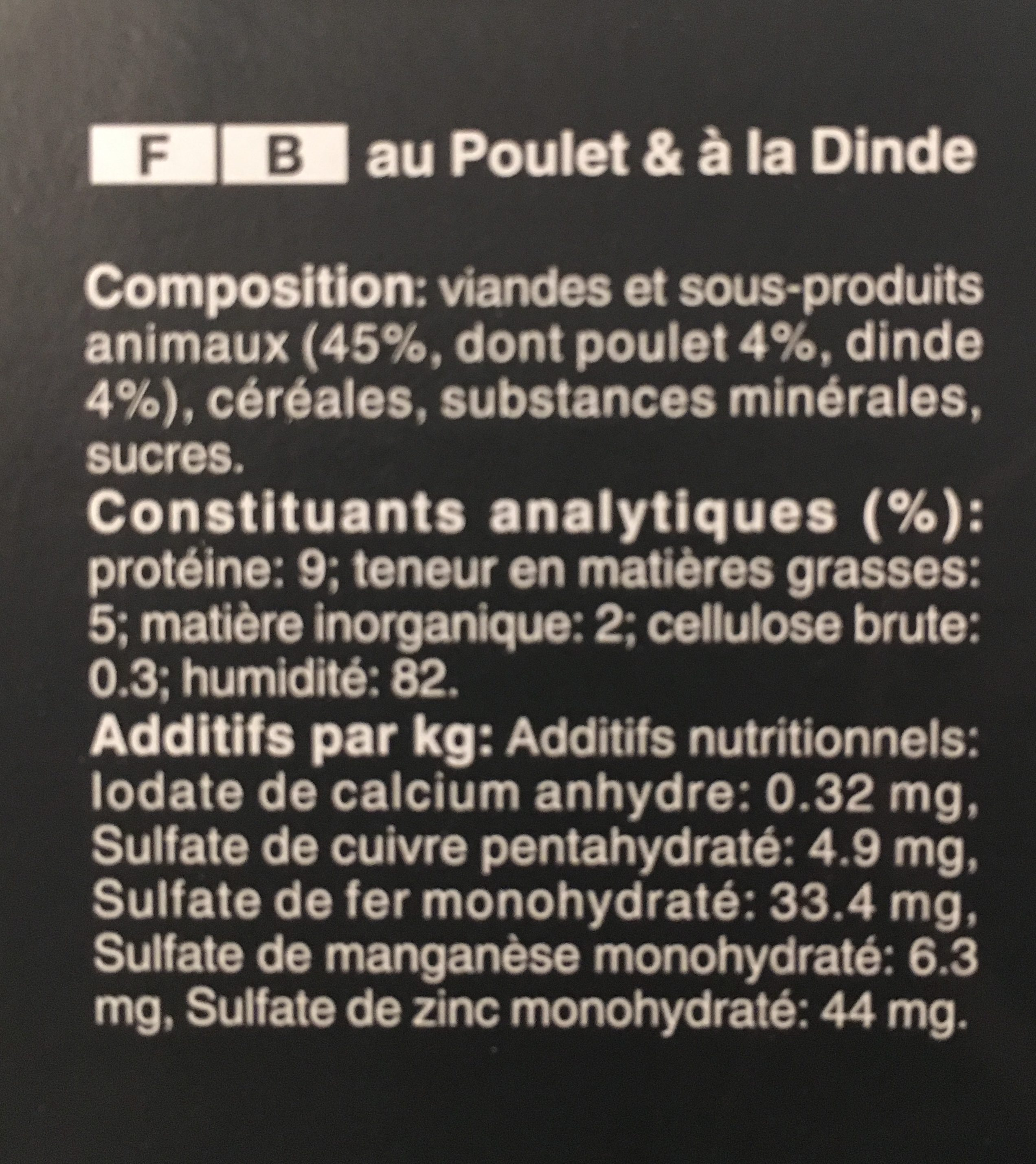 Barquettes Délices Aux Viandes 4 Variétés En Sauce - 12 X 85G - Ingredients - fr