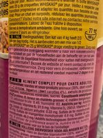 Whiskas - Ingredients - fr