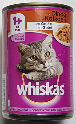 Whiskas 1+  en Gelée à la Dinde - Product - fr