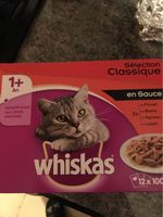 Whiskas - Selection Viandes En Sauce - 12X100G - Product