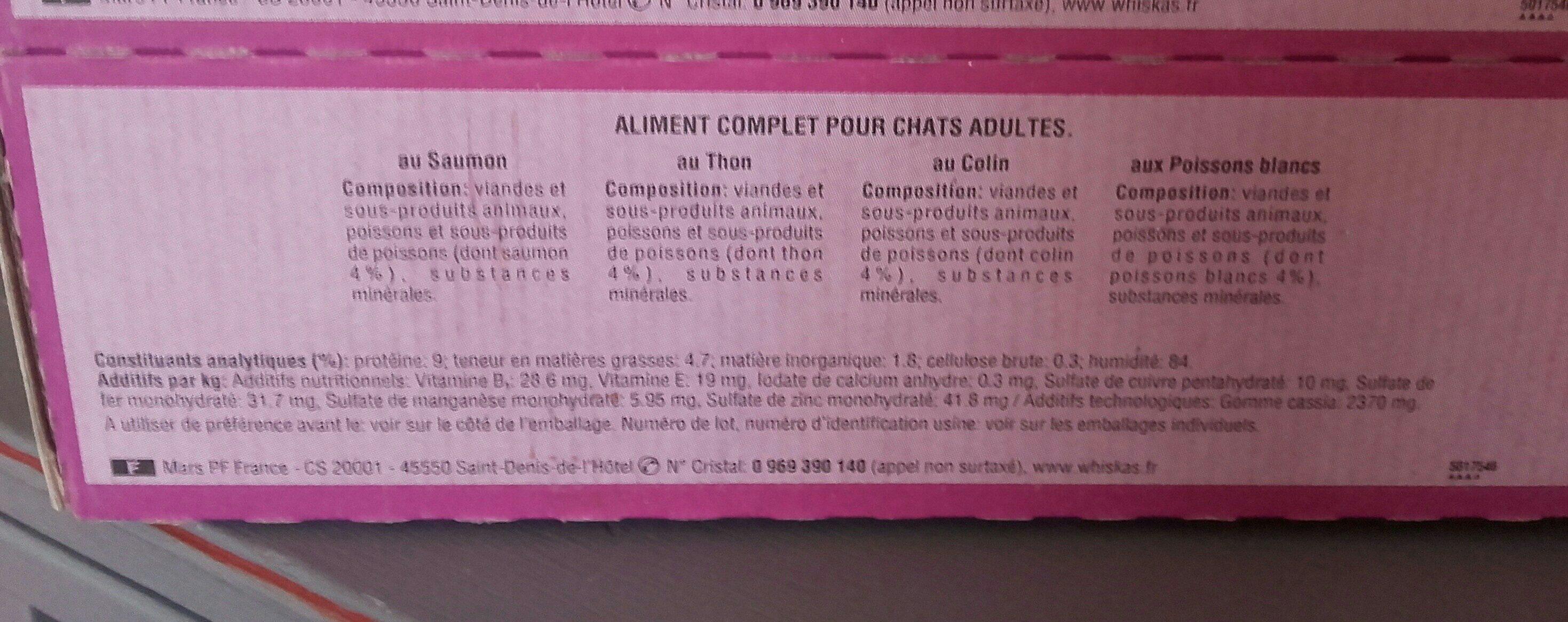 Sachets fraîcheur - Ingredients - fr