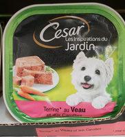 Aliment complet pour chien adultes au veau et aux des de carottes - Product - fr