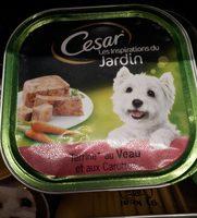 Aliment complet pour chien adultes au veau et aux des de carottes - Nutrition facts - fr