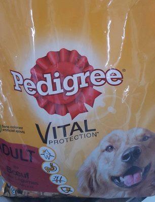 Complete, croquettes pour chien adulte au  boeuf et aux légumes - Nutrition facts