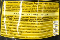 Menu Premium aux fruits Grandes Perruches - Nutrition facts - fr