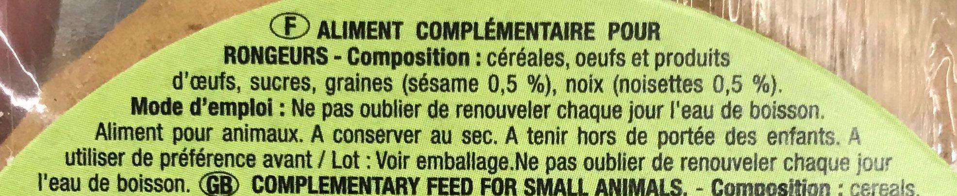 Donut Noisettes - Ingredients - fr