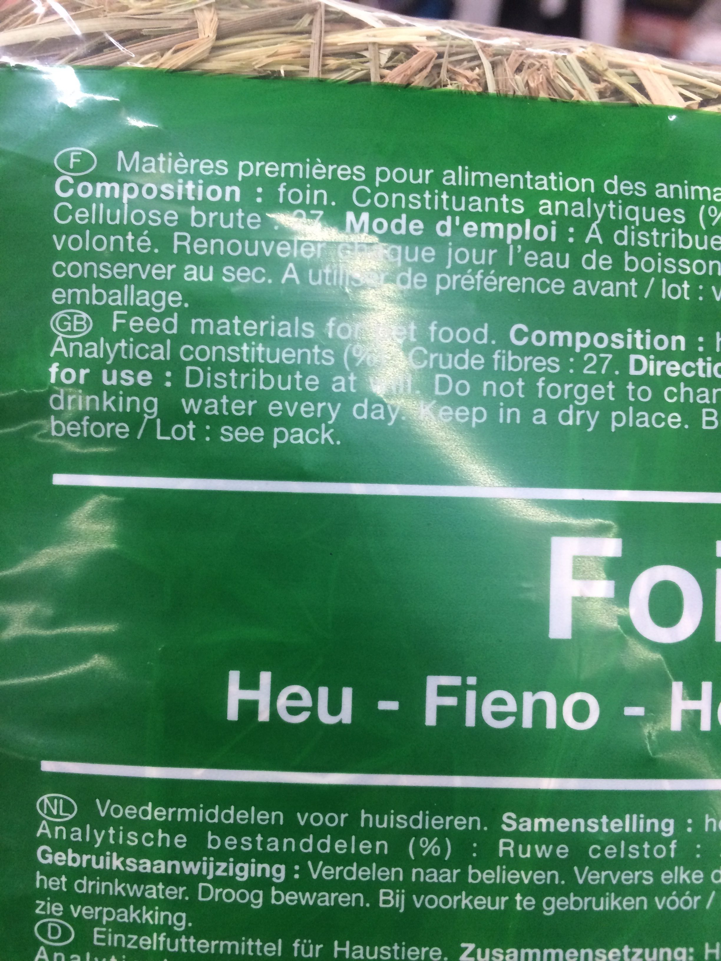 Foin Elsay Riga 919424PP 1K - Ingredients