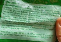 Croquette au Bœuf et aux Légumes - Ingredients