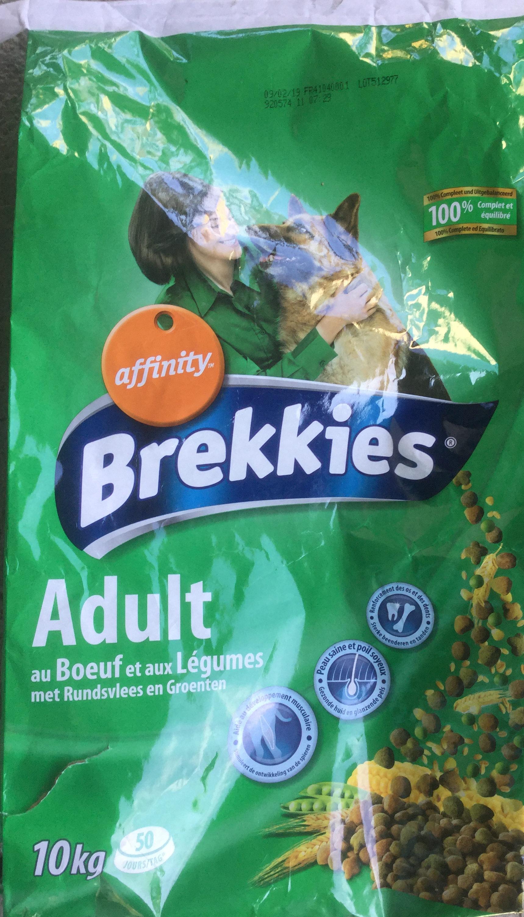 Adult au bœuf et aux légumes - Product