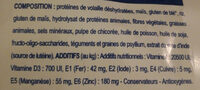 Croquettes Neutered Young Male - Ingredients - fr