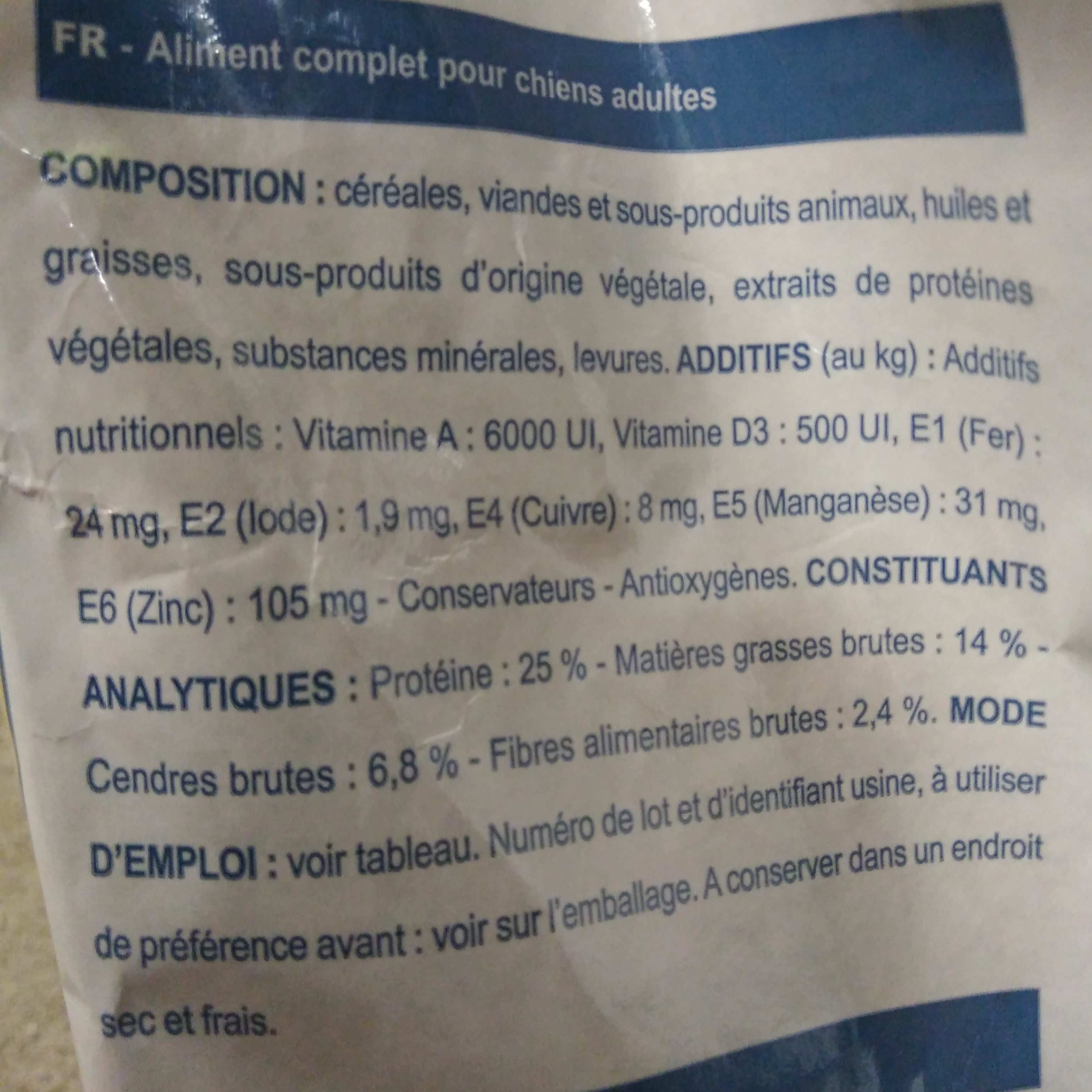 croc - Ingredients