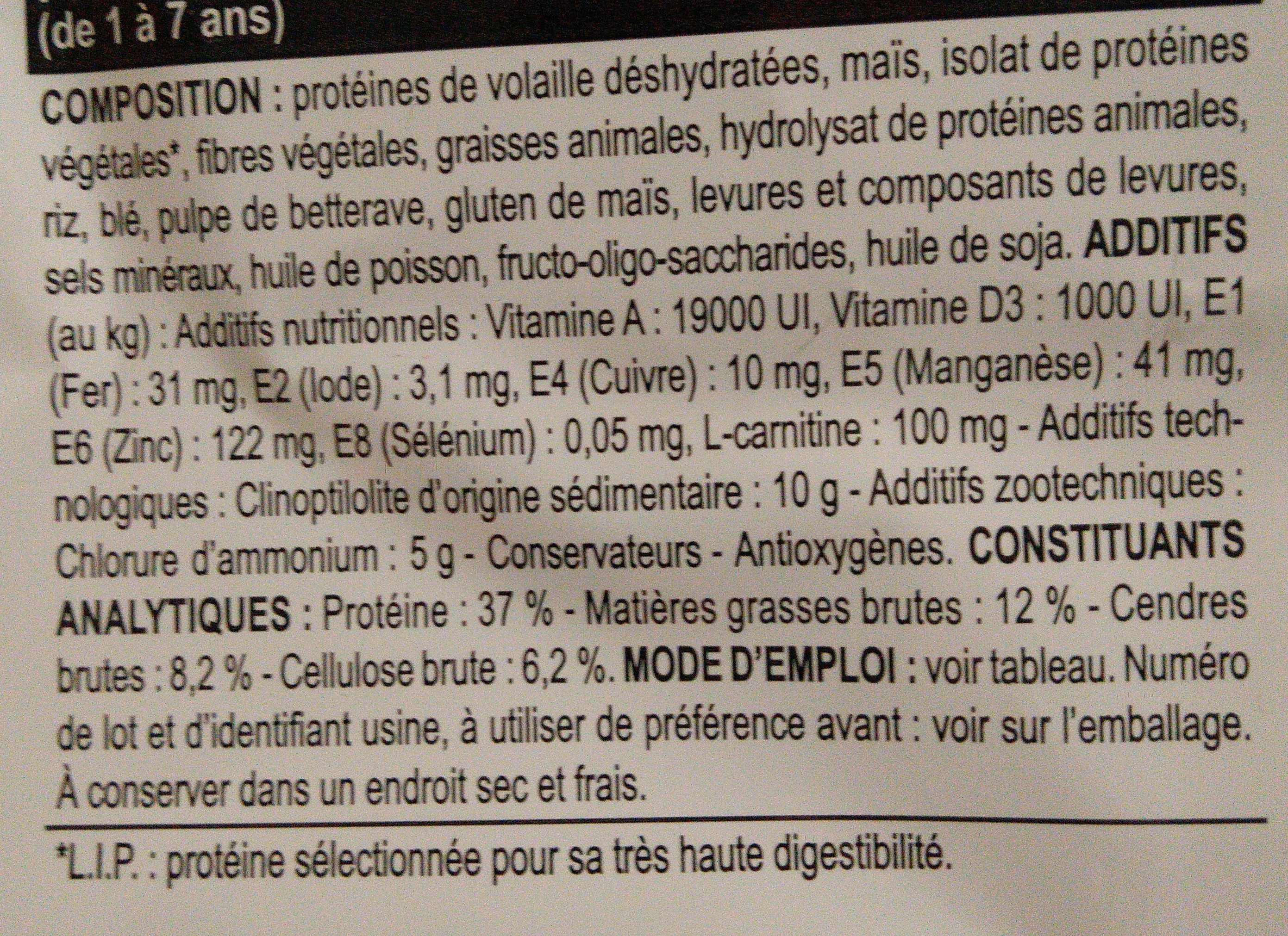 Regular STERILISED 37 - Ingredients
