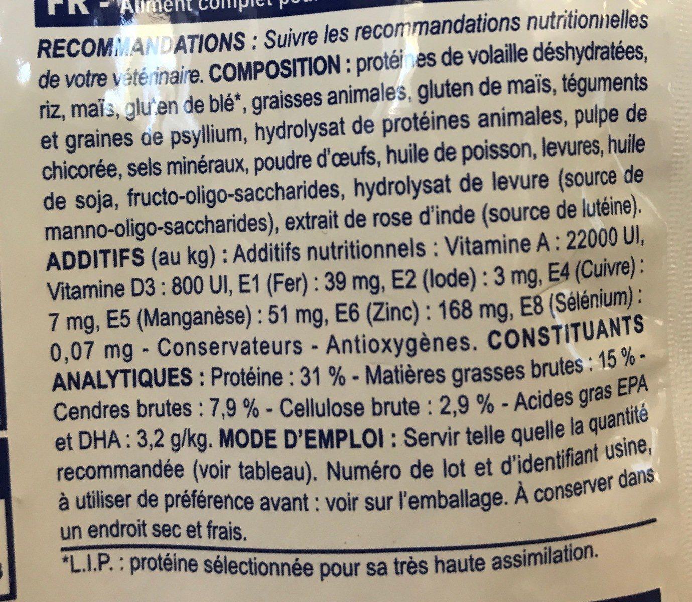 Scroquettes Royal Canin Fibre Response Pour Les Chats - Ingredients - fr