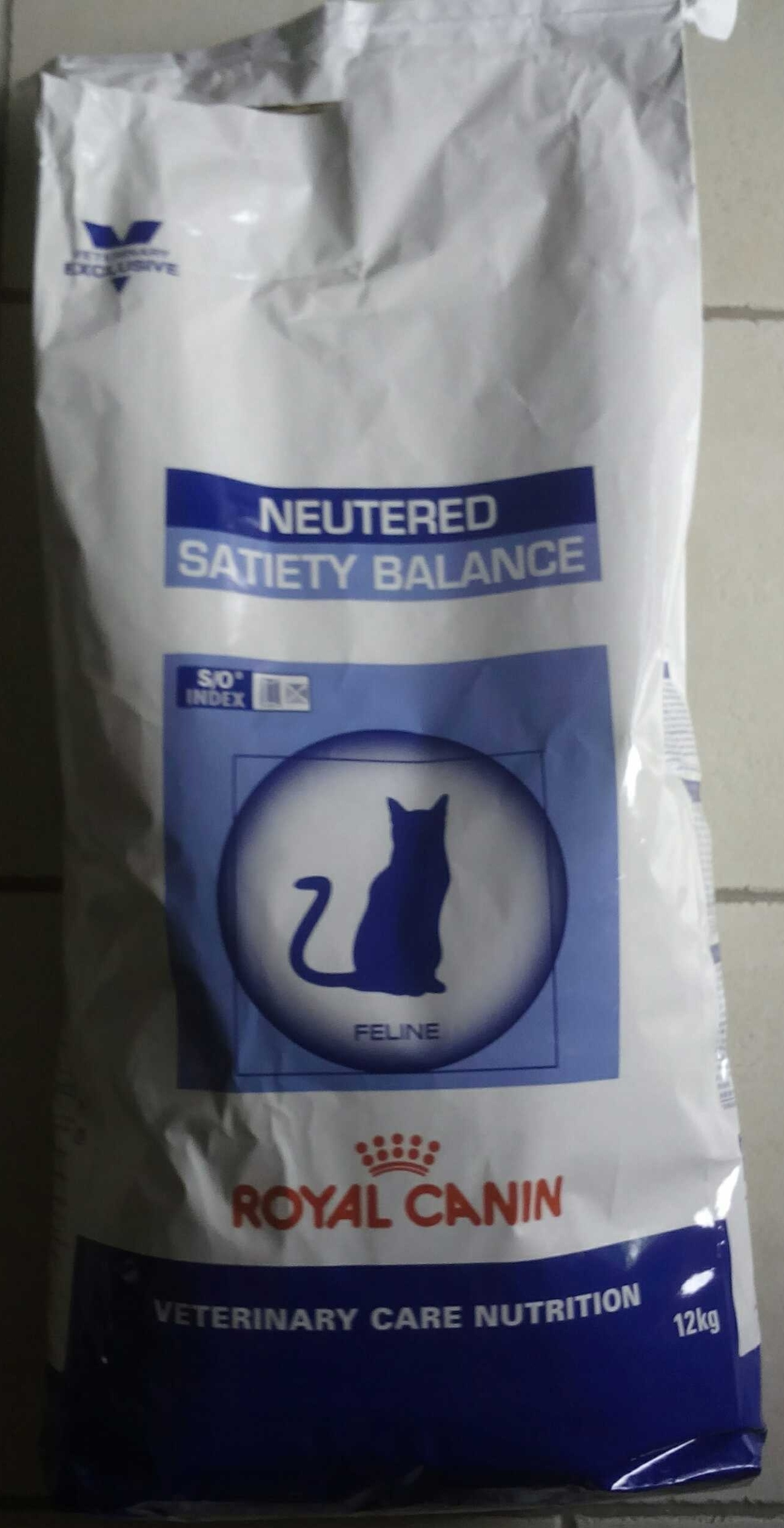 Royal Canin, Neutered satiety balance - Produit