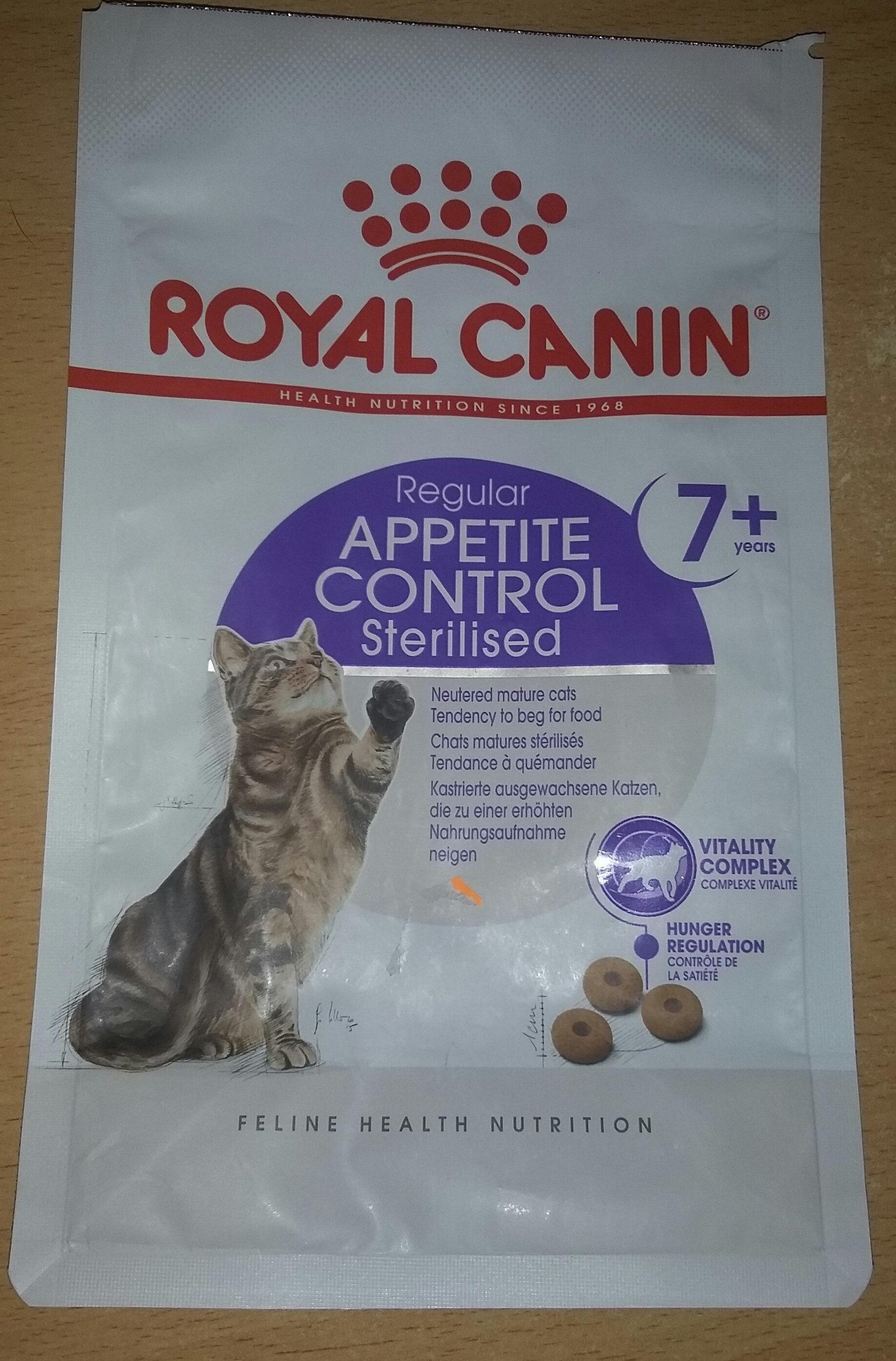 Appetite control sterilised 7+ - Product - fr