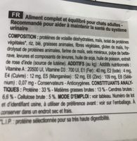 Royal Canin - Croquettes Urinary Care Pour Chat - 4KG - Ingredients