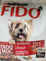 Fido croq Mix au Boeuf aux Céréales aux Légumes - Product