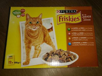 Aliment complet en sauce pour chat, sachets fraîcheur - Product