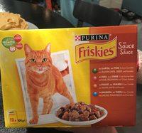 Aliment complet en sauce pour chat, sachets fraîcheur - Informations nutritionnelles
