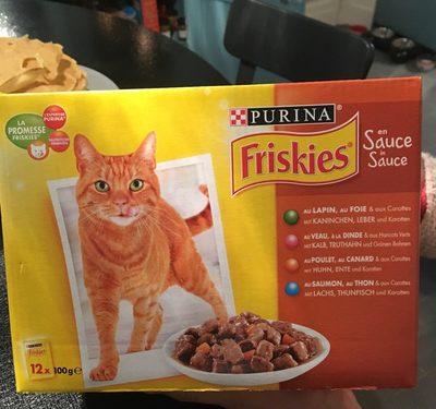 Aliment complet en sauce pour chat, sachets fraîcheur - Nutrition facts