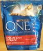 Croquettes boeuf spécial chat stérilisé - Product