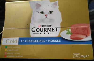 Les Mousselines au poulet, au saumon, aux rognons, au lapin - Produit - fr