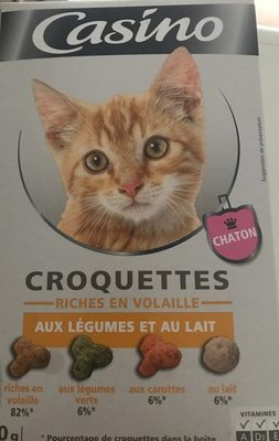 Croquette Chaton PLT / Carot / Lait 400G Co - Product - fr