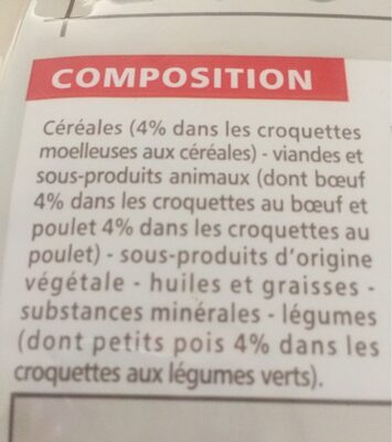 Croquette - Ingredients - fr