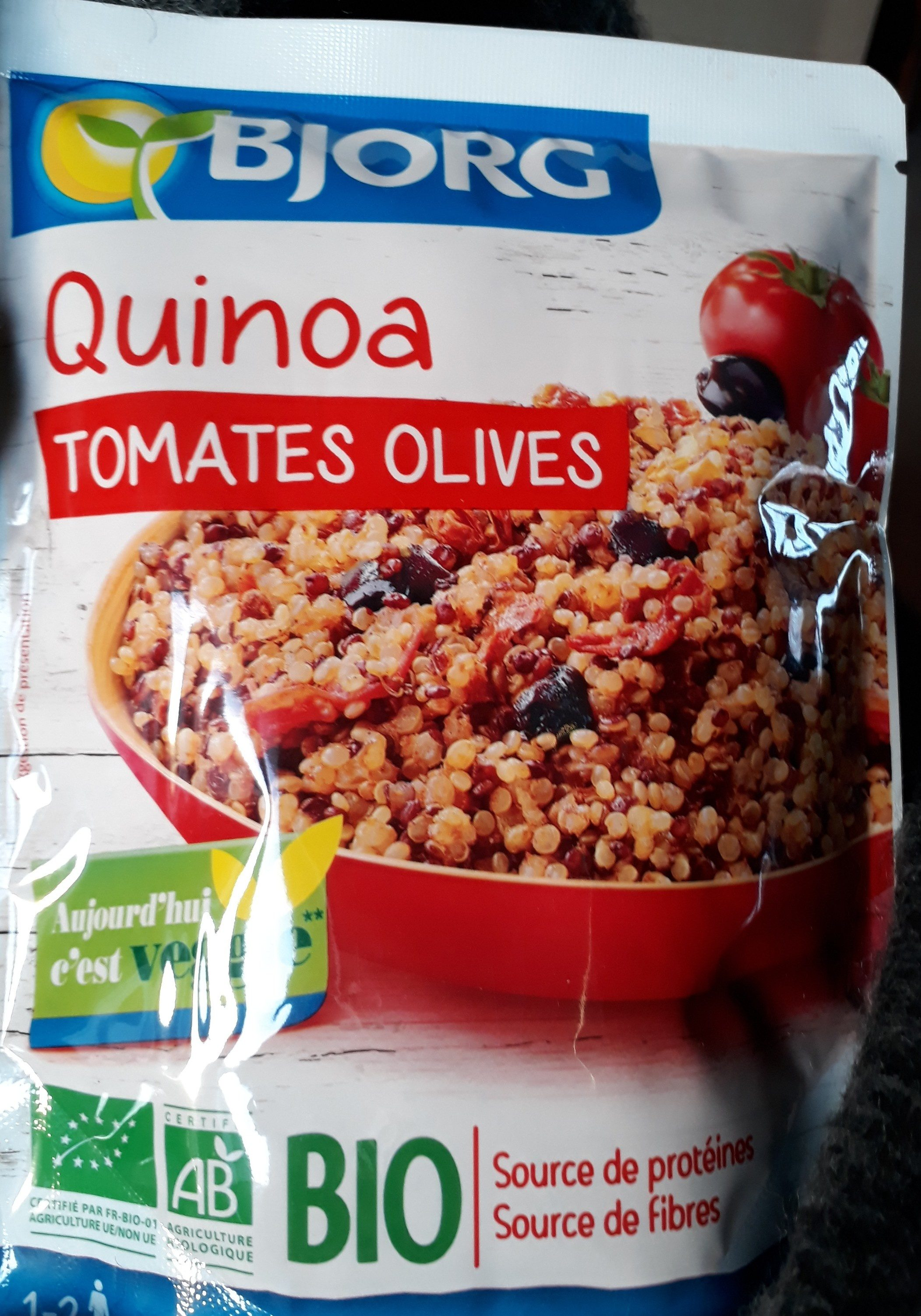 quinoa tomates olives - Product - fr