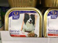 Terrine bœuf pour chien - Produit - fr