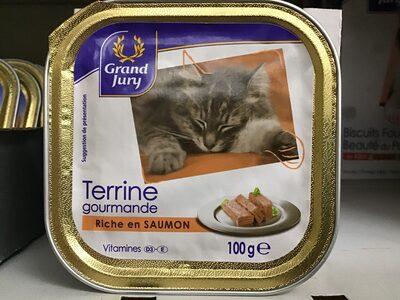 Terrine saumon pour chats - Product - fr
