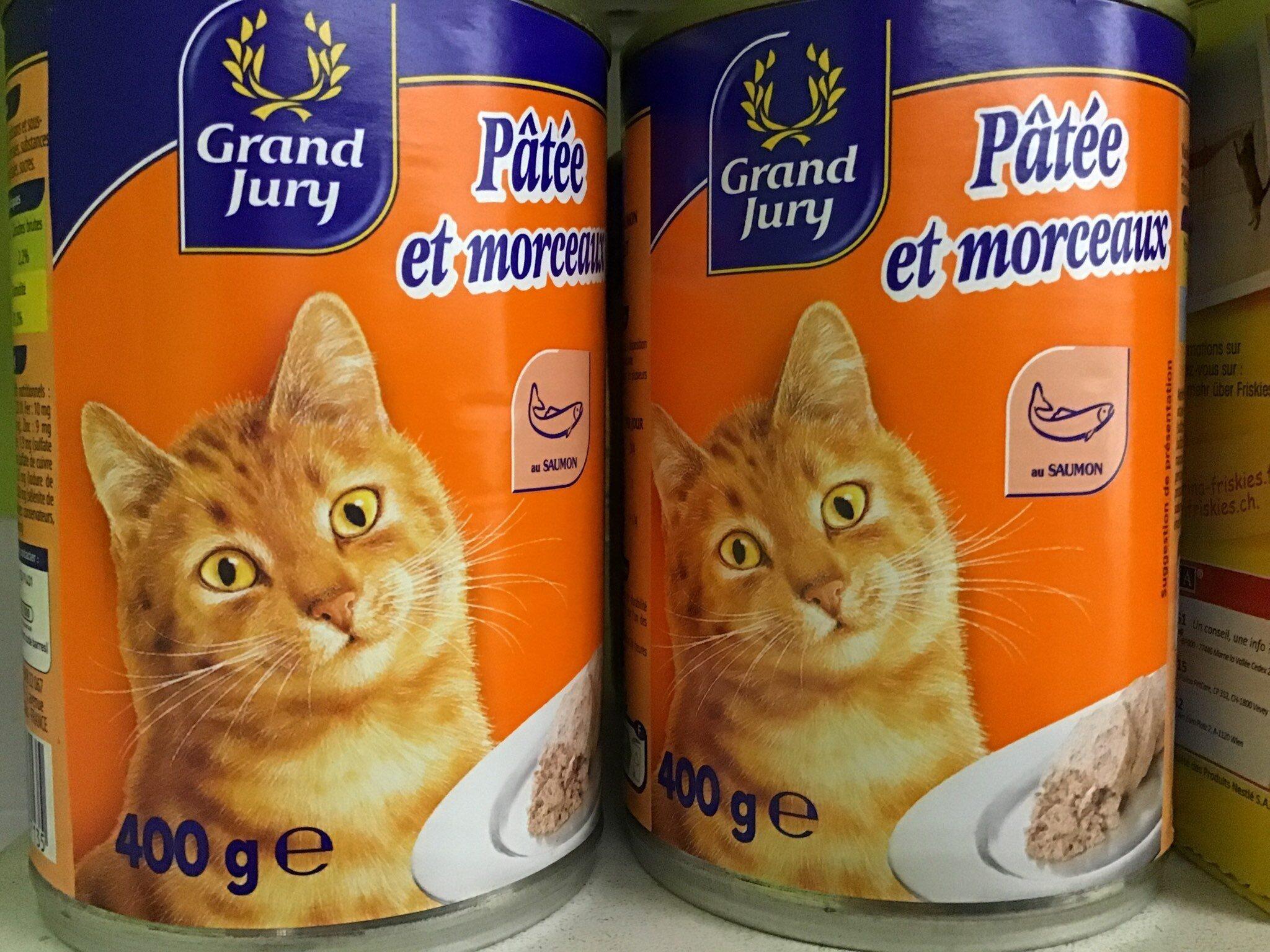 Pâtée et morceaux pour chat GDJ - Product - fr
