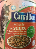 Mijoté en sauce au lapin, au foie et aux légumes - Product