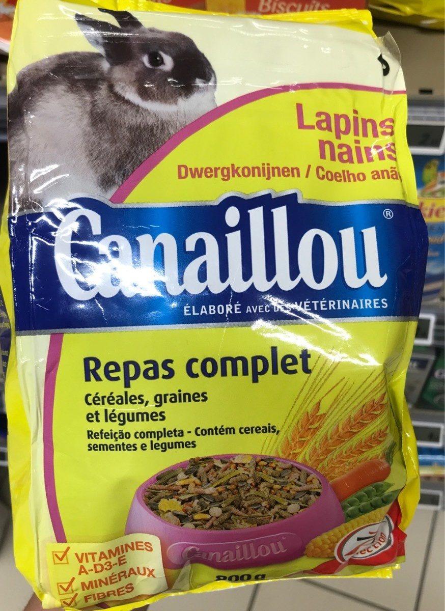 Repas Complet Lapin Nain - Product - fr