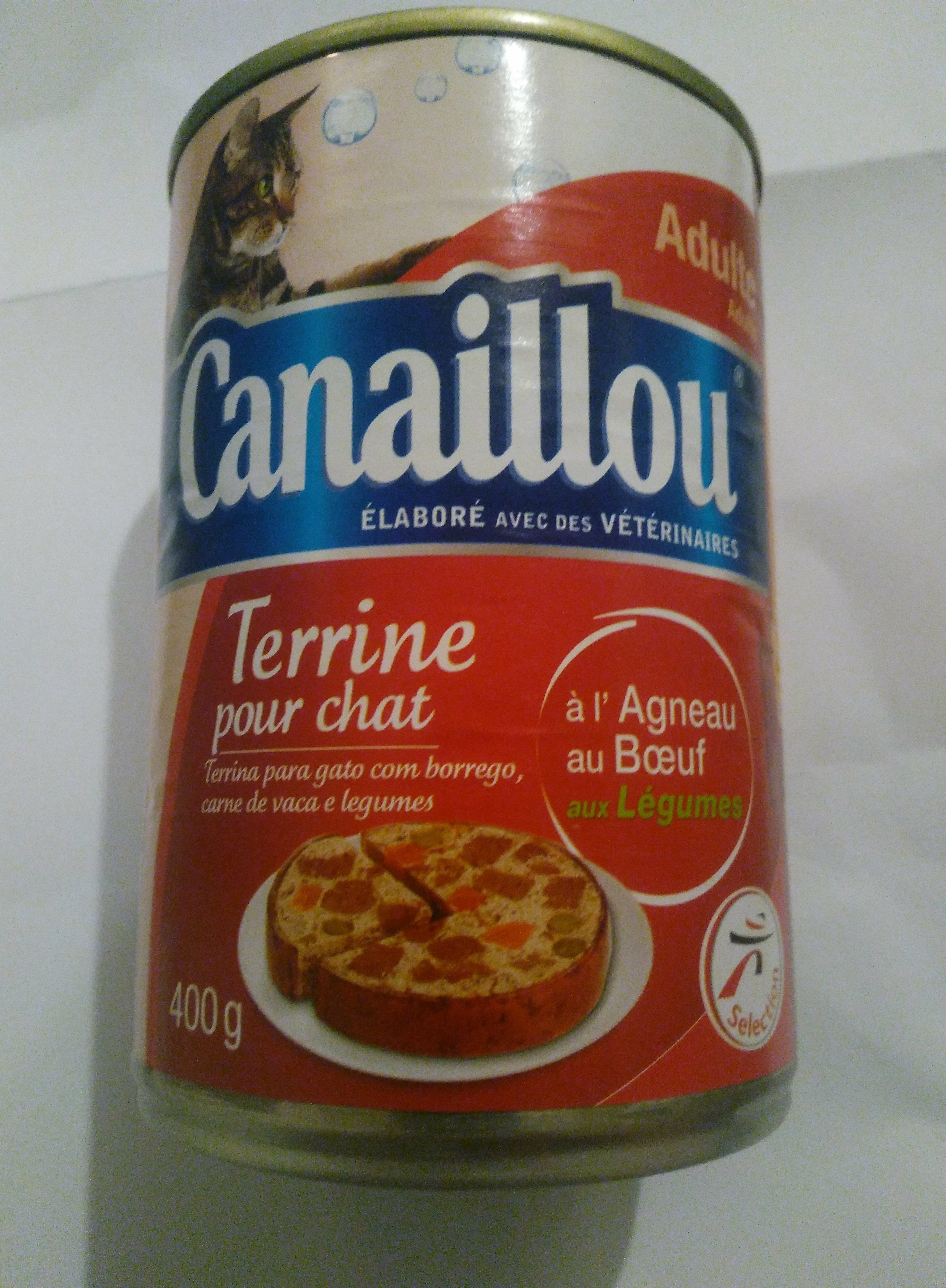 Terrine pour chat - Product - fr