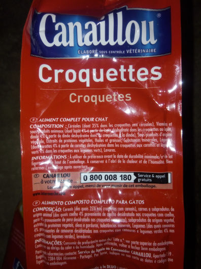 Croquettes adulte - Ingredients - fr