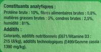 Double délices sénior - Nutrition facts
