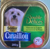 Émincés au Lapin sur mousse de Foie - Product