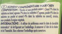 Snack'up multi-viandes, adulte - Ingredients