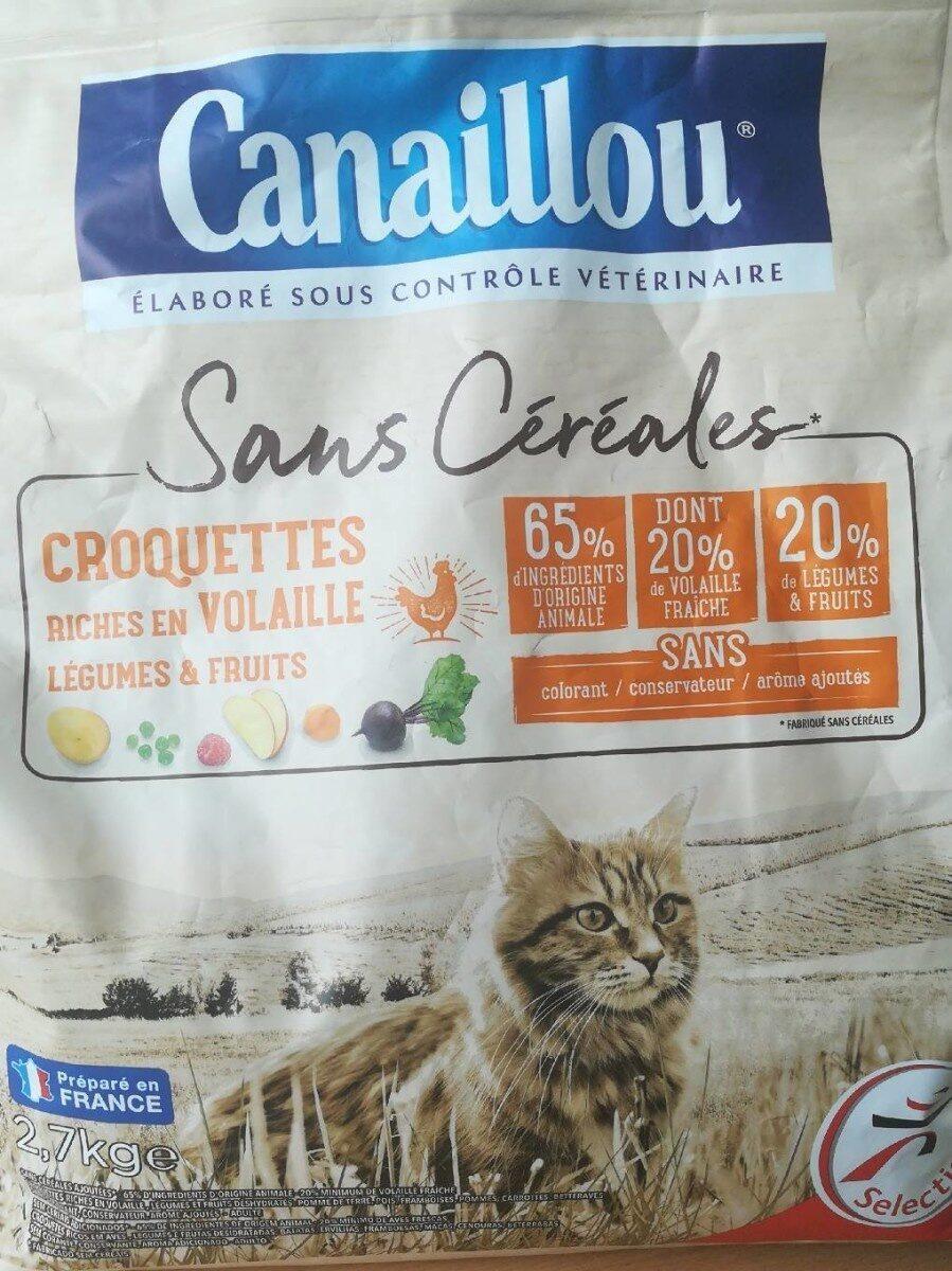 Croquettes sans céréales - Product - fr