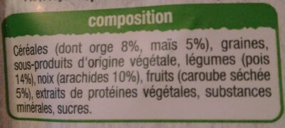 repas complet Auchan - Ingredients