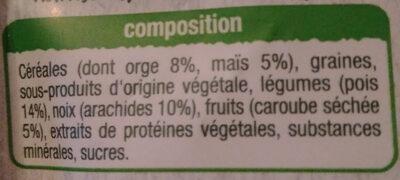 repas complet Auchan - Ingrédients