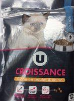 Croquettes Pour Chaton Premium U, - Product - fr