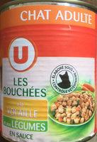 Les bouchées à la volaille et aux légumes en sauce - Produit