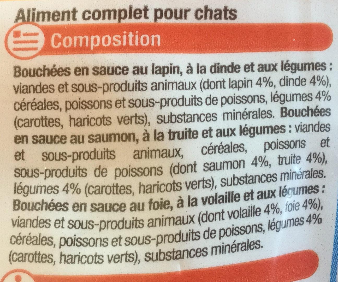 Les Bouchées - Ingredients - fr
