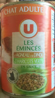 Les émincés à l'agneau, à la dinde et aux haricots verts en sauce - Product - fr