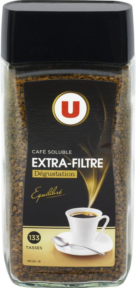 Café soluble lyophilisé extra filtre - Product - fr